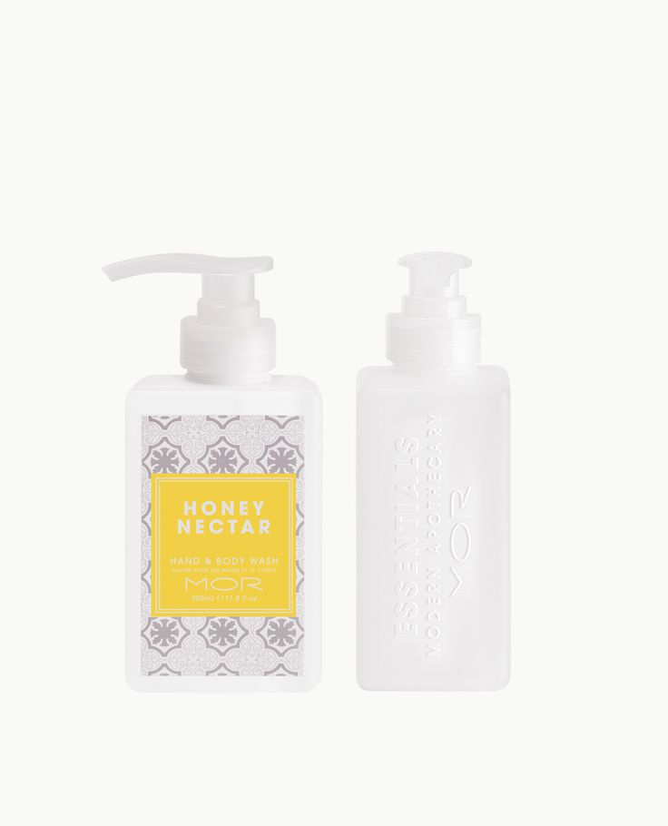 HONEY NECTAR HAND & BODY WASH A hydrating Hand & Body Wash enriched with Peppermint Leaf and Orange Fruit Extracts to leave skin cleansed and refreshed. The Fragrance: Sweet Brown Sugar melts into golden Honey Nectar on a base of candied Almonds and Vanilla Milk.