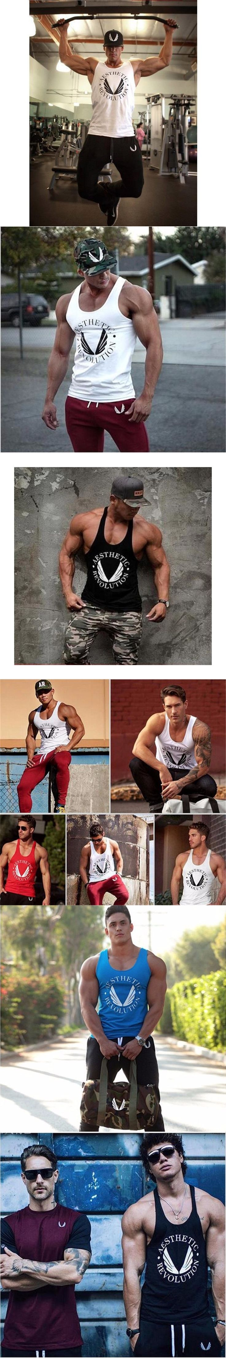 2017 Singlets Mens Tank Tops Shirt,Bodybuilding Equipment Fitness Men's Golds Stringer Tank Top Brand Clothes