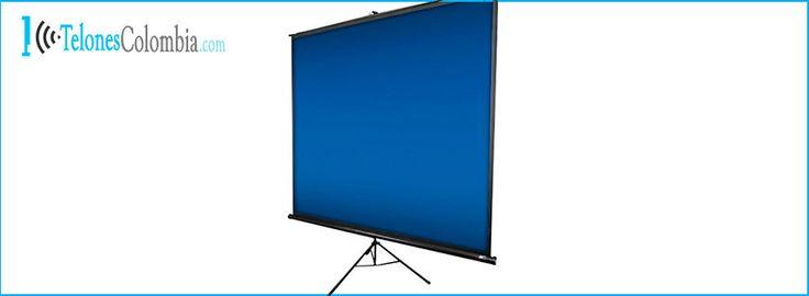 Telón tripode para video beam 280x210
