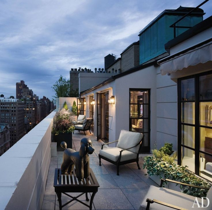 Terrace Garden Ideas In Hyderabad Kitchen For Your Rooftop: Traditional Outdoor Space By CAD International In New York