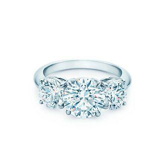 Anéis de noivado - Conheça a coleção de anéis de noivado | Tiffany & Co.