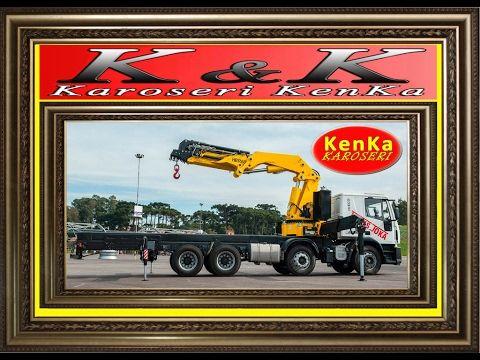 Karoseri Truck Crane Hyva - AWP - Lipat