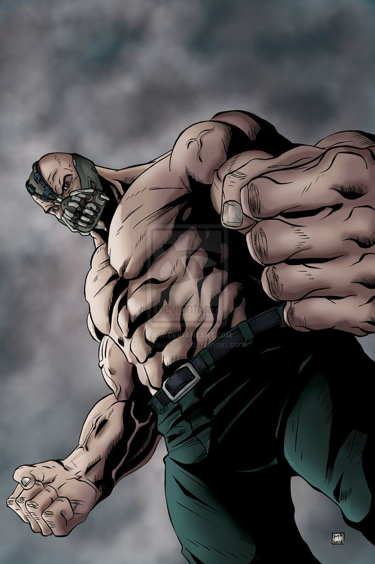 Bane Dark Knight Rises by mike-mcgee.deviantart.com on @deviantART