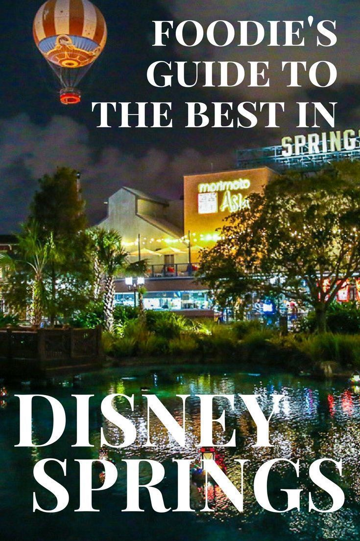 A lowdown of all the newest restaurants and desserts available at Disney Springs, making Disney World a veritable foodie vacation.