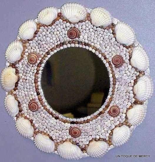 Resultado de imagen de arte con conchas