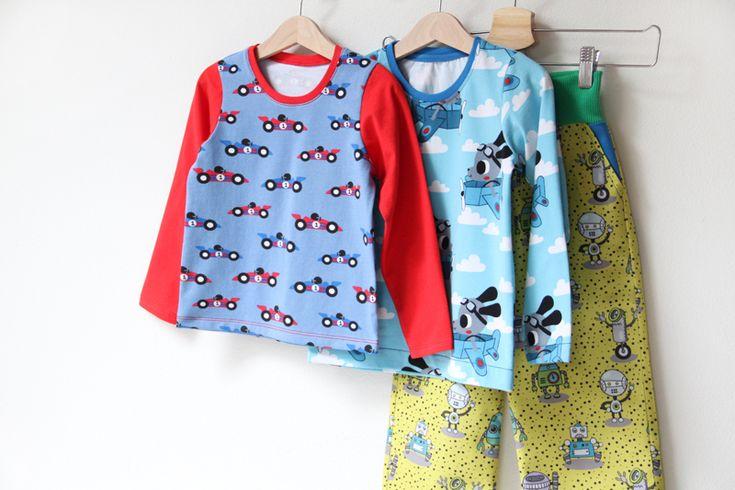 Střih a návod jak ušít dětské tričko