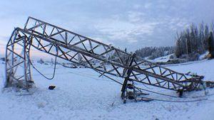Strommasten knicken und Bäume brechen - Bis zu fünf Zentimeter dick ist die Eisschicht, die alles umhüllt. - Quelle: Wetter-Online.de