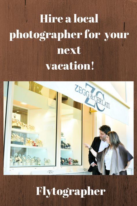 Come along with me as I hire a local photographer, flytographer!