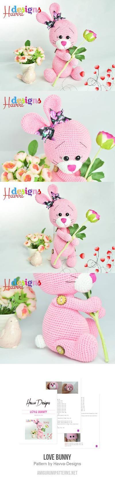 Love Bunny amigurumi pattern