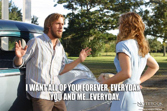 """The Notebook"" (2004) Ryan Gosling, Rachel McAdams"