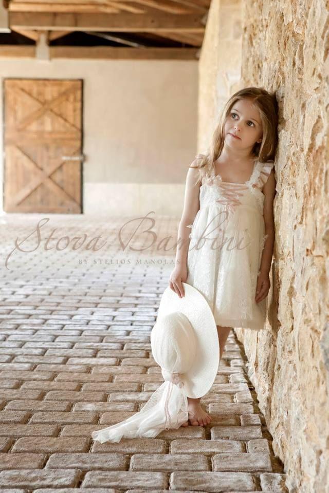 Βαπτιστικό Φόρεμα Stova Bambini Chloe (G3.15)