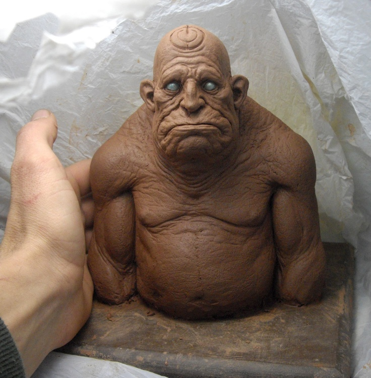 Best clay sculpture images on pinterest