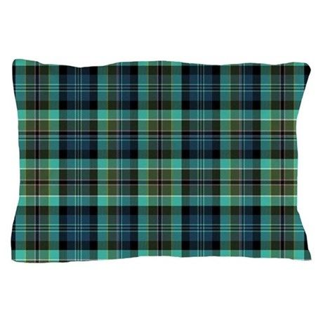 irish plaid Pillow Case on CafePress.com
