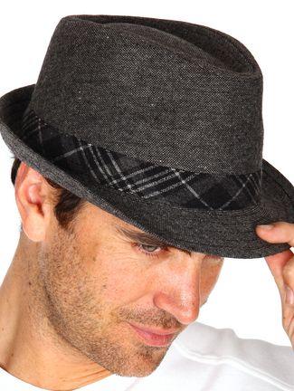 Chapeau homme à carreaux DEVRED