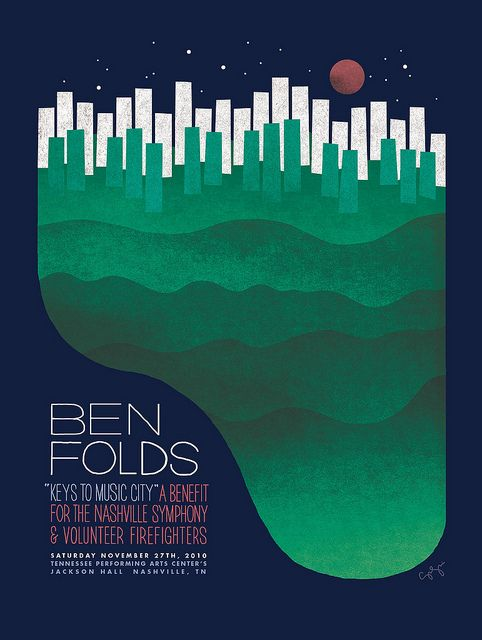 Ben Folds - Nashville Symphony Benefit poster | Flickr - Photo Sharing!
