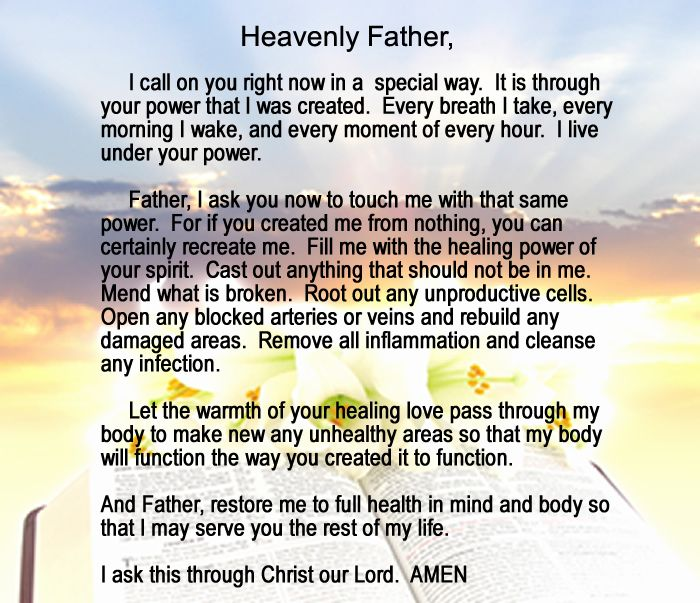 Healing prayer prayer and prayer pictures on pinterest