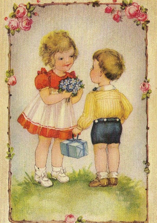 Miss Jane: Easter & Spring Vintage Postcards