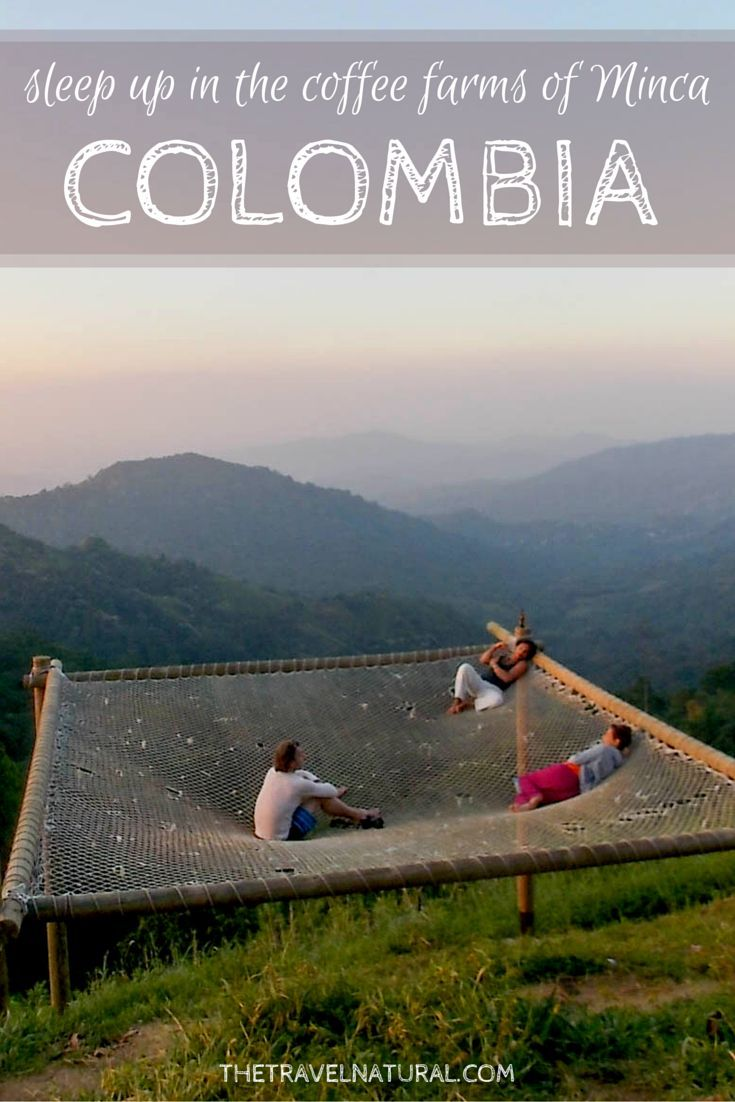 All I need is a hammock and Casa Elemento | The Travel Natural - the world's largest hammock is found in the coffee farm region of Colombia