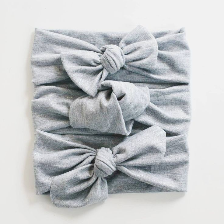 Grey Shimmer Headband - Lulu and Milly