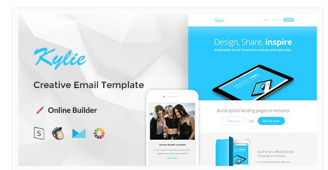 The Best Beautiful Mailchimp Email Templates Images On Pinterest - Mailchimp template tags