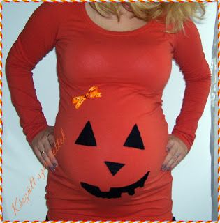 Halloween maternity t-shirt