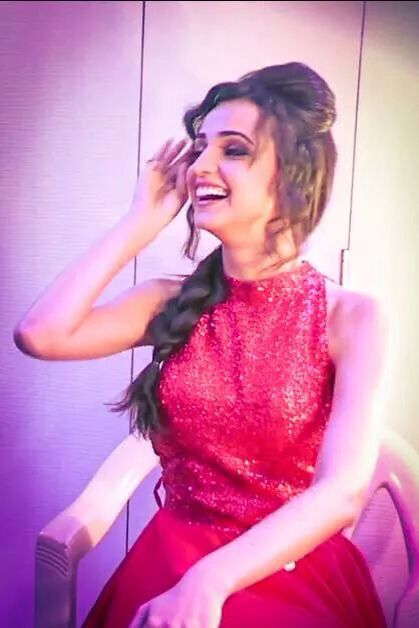 Sanaya Irani in Red
