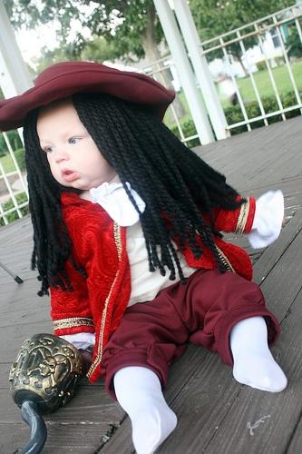 Captain Hook Never Grew Halloween