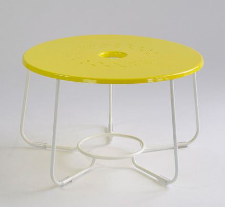 The CP side table - part of the CP Series inspired by the designer's memories of going out on the crayfish boats at Port Fairy. http://www.zenithinteriors.com.au/product/2523