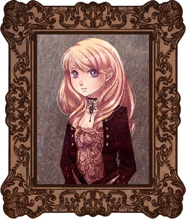 """Old portrait by ChiNoMiko  """" Mary Magdaleine (a mentionned character in AS halloween episode) """""""