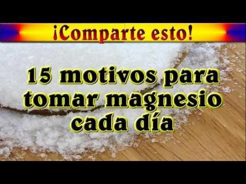 15 motivos para tomar magnesio cada día - YouTube