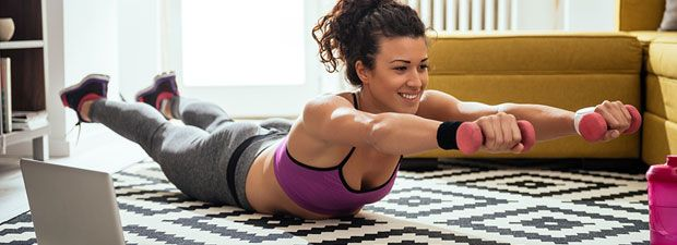Workout: Fitness für zu Hause - das beste Programm! - BRIGITTE