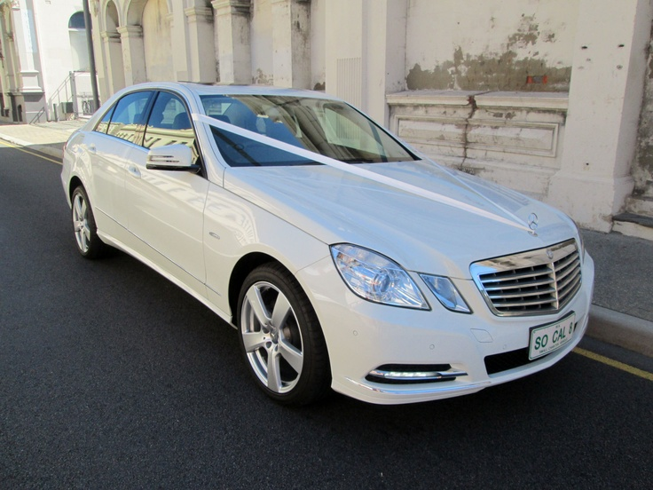 Modern Wedding Cars. The Bran New E Class Mercedes. The Only E