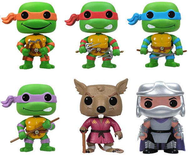 Teenage Mutant Ninja Turtles Pop! Vinyl Figures