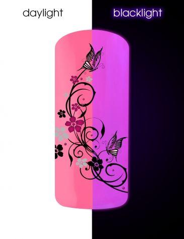 Verniz de gel dsco rosa, o melhor dos geles de cor para unhas bonitas e resplandecentes