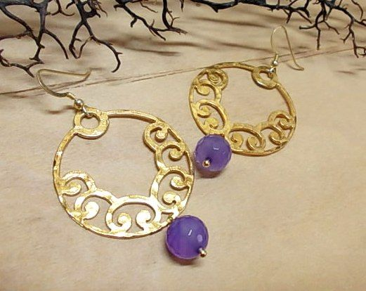 With purple agate...<3