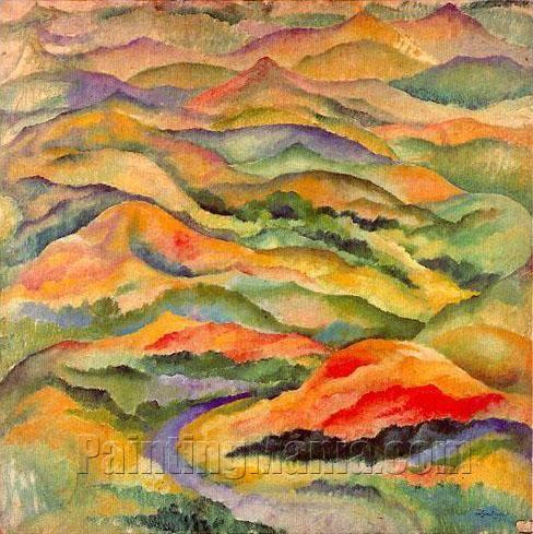 Mountains by Amadeo de Souza Cardoso