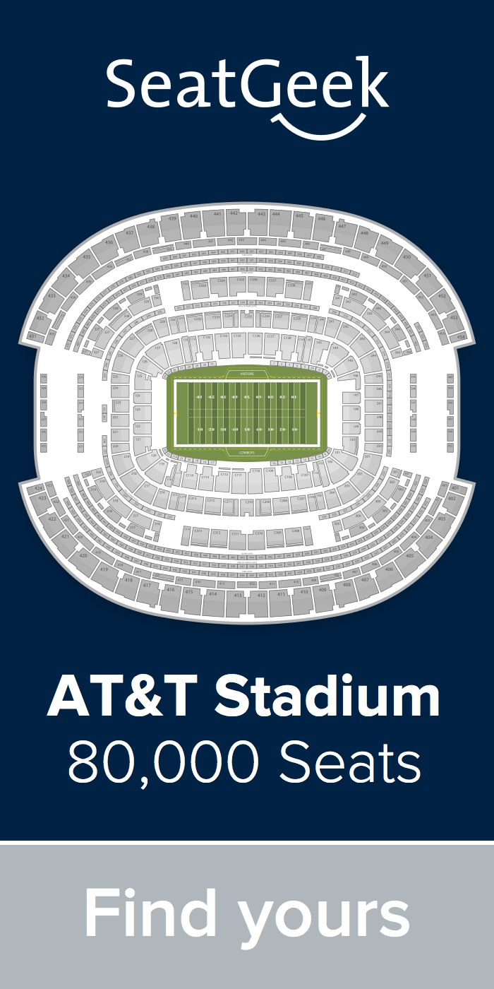 Get the best deals on Cowboys tickets on SeatGeek!