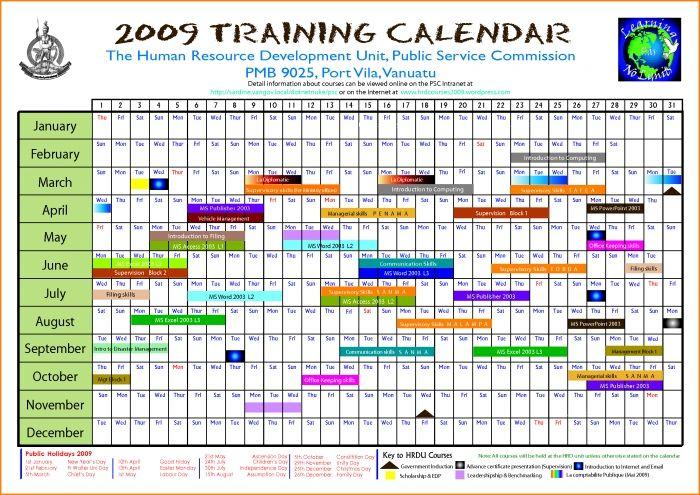 calendar 2019 monthly template