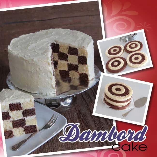 Dambord Cake