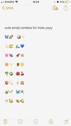 Emoji Combinations For Contacts Snapchat Emojis Emoji Combinations Emoji For Instagram