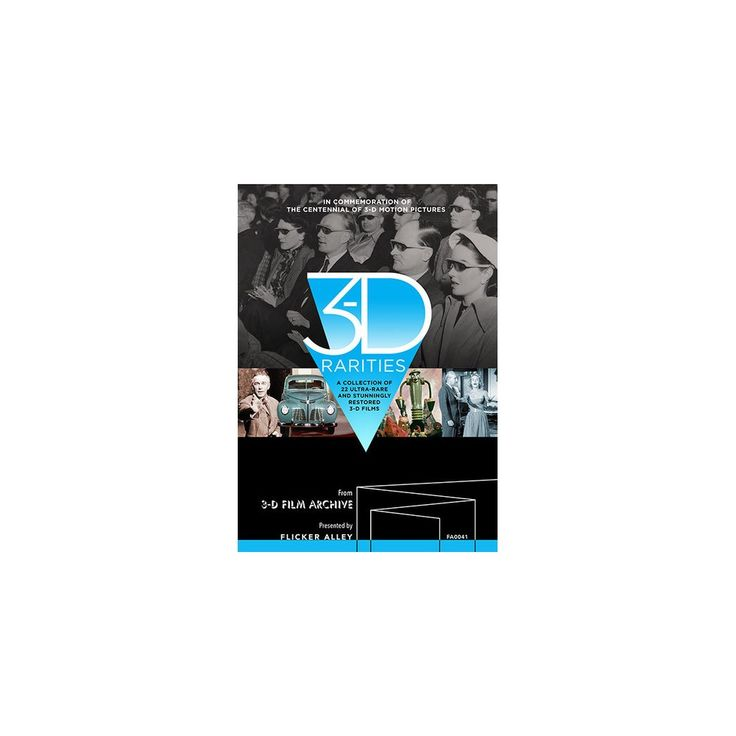 3-D Rarities [Blu-ray], Movies