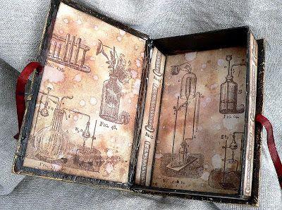 Von Pappe II: Altered Chocolate Box Book
