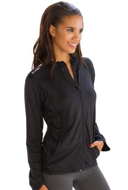 Voguish Matte Finish #Black #Jacket for Women