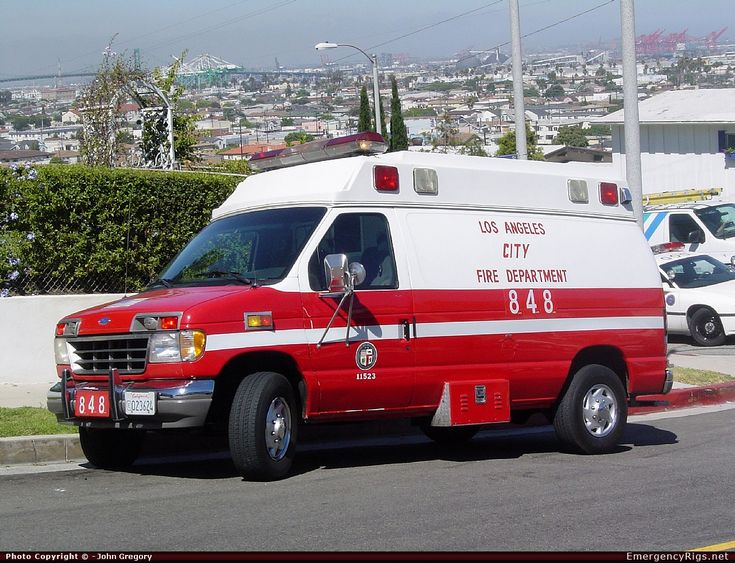 Ambulance Los Angeles Fire Department Emergency Apparatus Fire Truck Photo