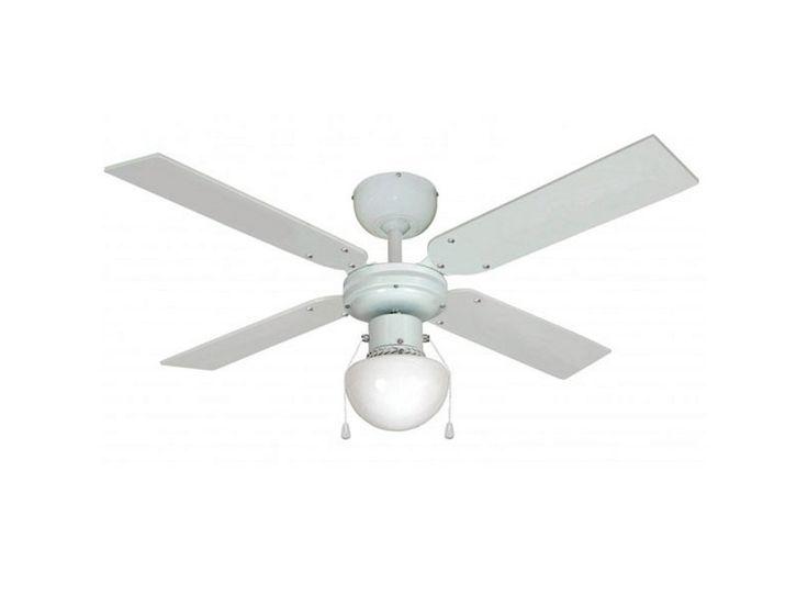 Ventilateur de plafond avec globe fox