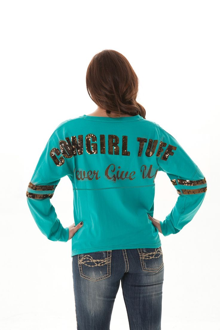 H00385 - Long Sleeves - Tops - All Products | Cowgirl Tuff Co.