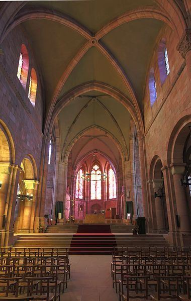 Saint-Die-des-Vosges France  city photos : Cathédrale de Saint Dié des Vosges. Lorraine | France: cathédrales ...