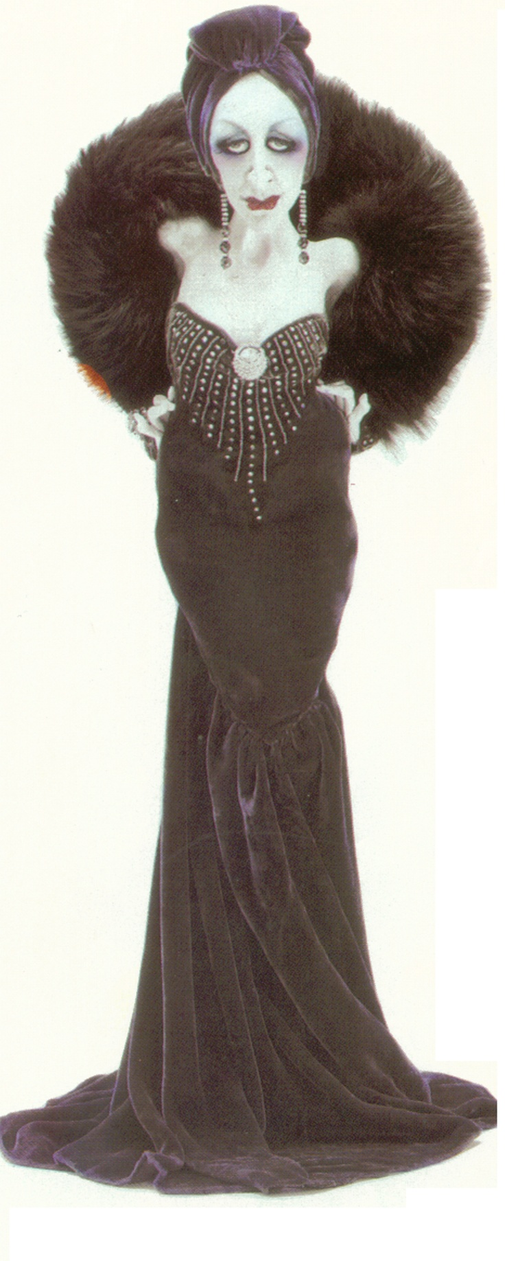 Anastasia.  But it makes me think of Gloria Swanson! by Van Craig