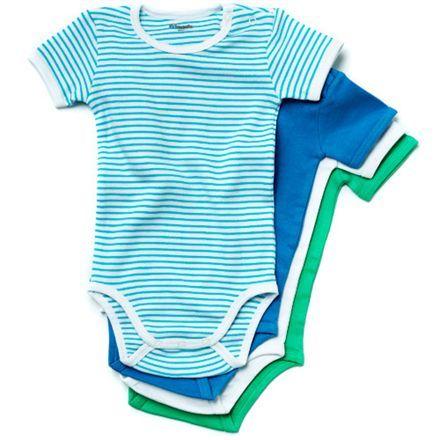 Friends baby body - 4 stk.  Str. 56-98 - EU Ecolabel (100-130,-)