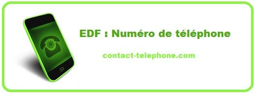 Contacter EDF pro / particulier découvrez les coordonnées de Contact comme le numéro de téléphone gratuit non surtaxé ou encore l'adresse!